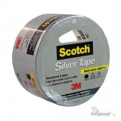 Fita Silver Tape 45mm x 5m Prata 3M